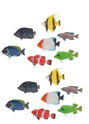 (2 Dozen Mini Tropical Fishes / Novelty / Decor / Giveaway)