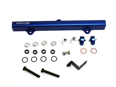 OBX Blue Fuel Injection Rail for 95-99 Toyota MR2 Turbo 3S-GTE w/ 3rd Gen. Cylinder Head (JDM/EDM ONLY)