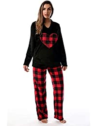 Plush Pajama Sets Women