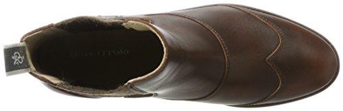 Marc OPolo Damen Flat Heel Chelsea 70814225002124 Boots Braun (Brandy)