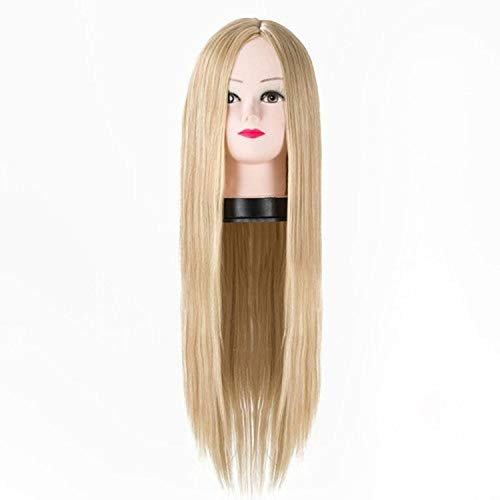 Synthetic Heat Resistant Middle Part Line Costume Cosplay Hair 26