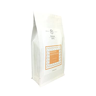 Yong Xuan Coffee BRAZILIAN MANDHELING - HOUSE BLEND WHOLE BEAN COFFEE With Fresh Roasted 16 oz