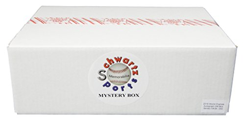 Chicago Cubs 2016 World Champs Mystery Autograph & Collectibles Gift Pack - Series 2 (Limited to 250) from Schwartz Sports Memorabilia