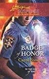 Badge of Honor, Carol Steward, 0373443064