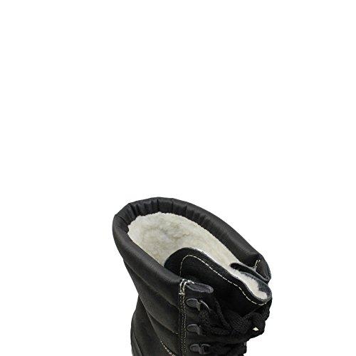 Jal Group - Calzado de protección de Piel para hombre Negro negro Negro - negro