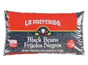 La Preferida Black Beans, 4-pounds (Pack of 3) by La Preferida