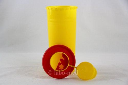 Kanülenabwurfbehälter 1,0 Ltr. Multi-Safe quick 1000