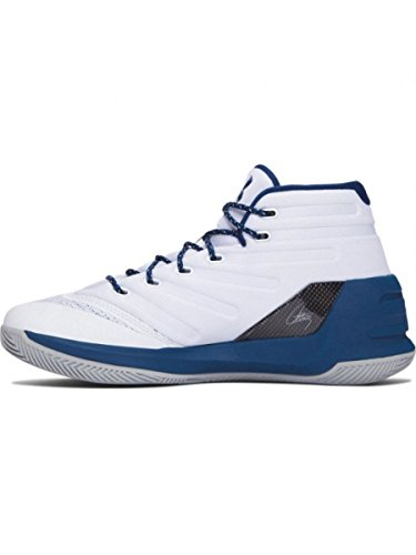 Under Armour UA Curry 3 Hombre Zapatillas Baloncesto blanco