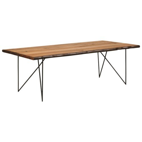 Kitchen Table Top Material: Davenport Metal Top Dining Table Cherry