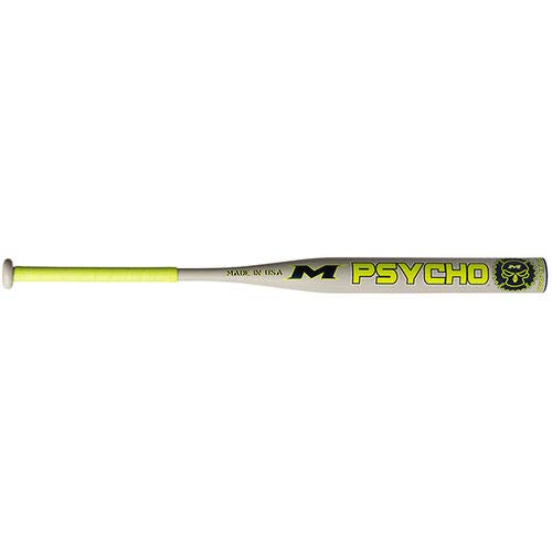 Miken 2019 Psycho USSSA 1-Piece Maxload Slowpitch Softball Bat, 14