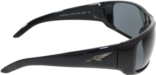 Arnette La Pistola AN4179-01 Polarized Sport Sunglasses,Gloss Black/Polarized Grey,55 mm