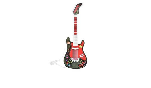 Gettesy Guitarra Electrica Niños Guitarra Infantil Juguete para los pequeños músicos - ¡para Crear tu Propia música: Amazon.es: Juguetes y juegos