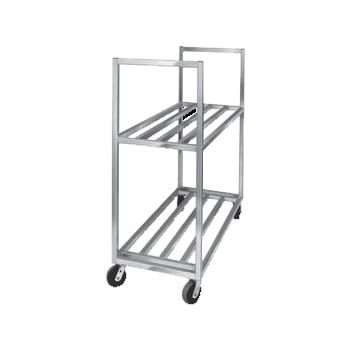 """Channel BBT-4220-2 Box Transport Truck, 42""""W x 20""""D x 67-1/2""""H, 34"""" Spacing, Two Shelves"""
