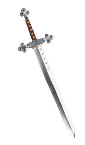 Lions Sword (Disguise Men's Lion's Sword Costume Accessory, Silver, Adult)