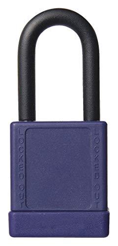 Purple Lockout Padlock, Alike Key Type, Aluminum Body Material, 6 PK by Unknown (Image #1)