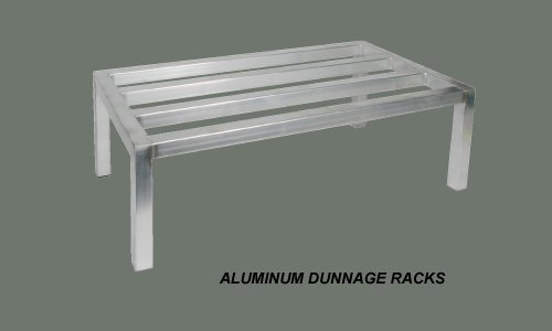 Winco ADRK-2036 20-Inch by 36-Inch Dunnage Rack, 12-Inch High, 1800-Pound Capacity