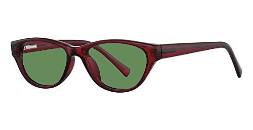 BoroView Shade #3 - Glass Working Spectacles in Genius Womens Plastic Frame - 51-17-135 by BoroView Polycarbonate Lens