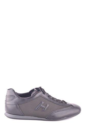 Hogan Uomini Mcbi148342o Sneakers In Pelle Nera