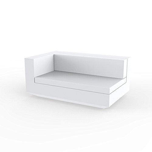 Vondom Vela Sofa Derecho XL White