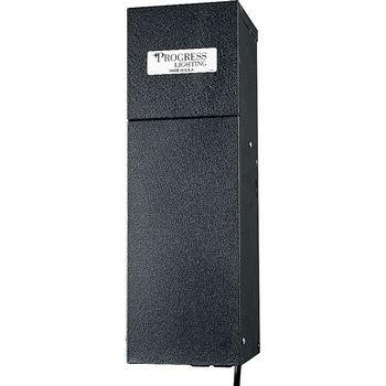 (Progress Lighting P8523-31 600 Watt Transformer with Plug-Ins, Black)