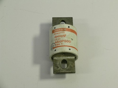 A50P500-4 Gould Shawmut Amp-Trap Fuse A50P500 Type 4 Form 101 500 Amp 500V A50P5004 by SHAWMUT
