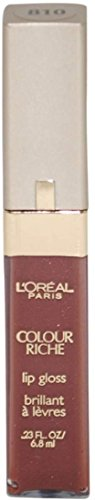 L'Oreal Colour Riche Gloss, Rich Nude  0.23 oz
