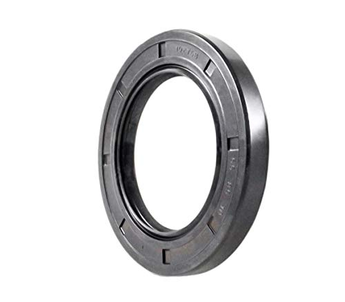Oil and Grease Seal TC 55X85X10 Rubber Double Lip with Spring 55mmX85mmX10mm. by EAI Parts (Image #2)