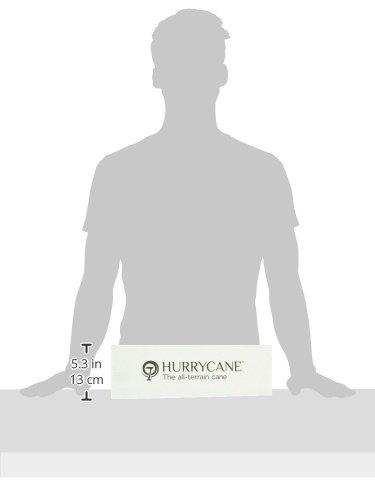 HurryCane Freedom Edition Folding Cane with T Handle, Original Black by HurryCane (Image #8)