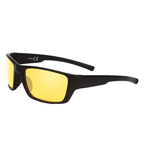 (SUNyongsh Outdoor Sports Glasses Sports Design Riding Sunglasses Fashion Unisex Sports Sunglasses)