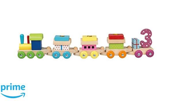 Idena 31089 - cumpleaños Tren: Amazon.es: Juguetes y juegos