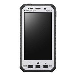 Panasonic FZ-E1BCCAZZM   Tablet with Windows E8.1HH, Qualcomm MSM8974AB 2.3GHz QC Processor, 10PT Gloved Multi Touch, Webcam, 8MP CAM, NFC, SE47502D Bar Laser, 5'' Size