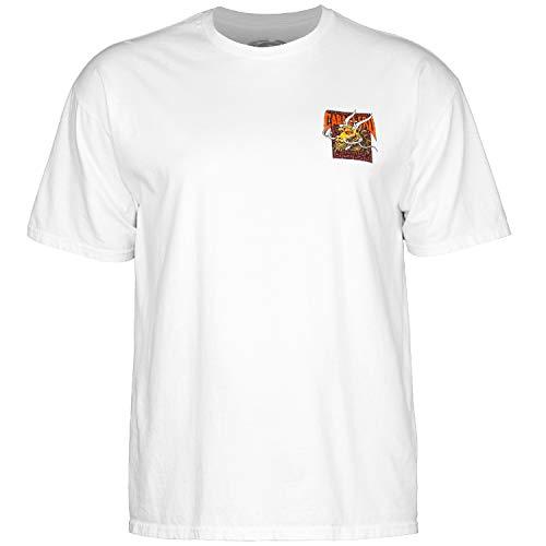 Powell Swiss (Powell-Peralta Cab Street Dragon T-Shirt, White, X-Large)