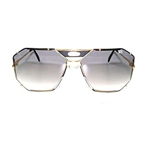 Cazal 905 Black Gold Grey Gradient Sunglasses