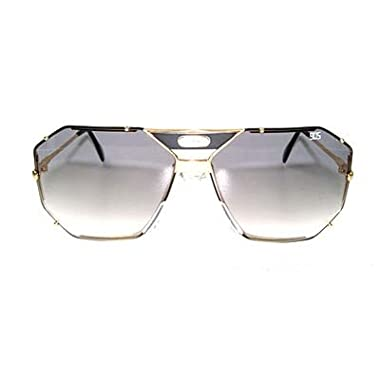 766d9e34e4e2 Cazal 905 Black Gold Grey Gradient Sunglasses