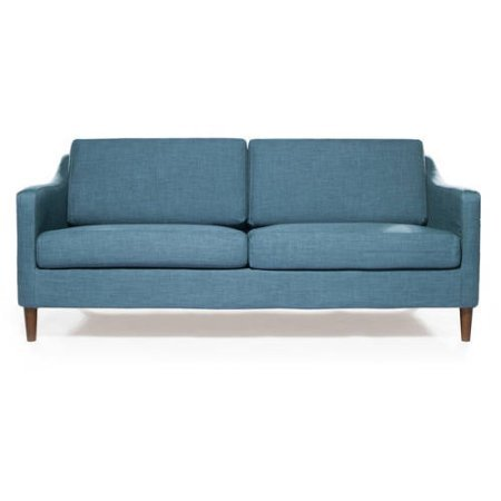 Amazon Com Better Homes And Garden Modern Griffin Indoor Sofa Blue
