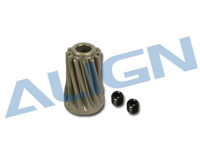 Align Pinion Gear - ALIGN H70062 Motor Slant Thread Pinion Gear, 12T