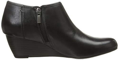 Clarks Mujeres Brielle Abby Wedge Pump Dark Grey Leather