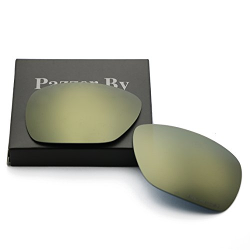 Polarized Replacement Lenses for Oakley Inmate - Bronze Gold Mirrored - Sunglasses Inmate