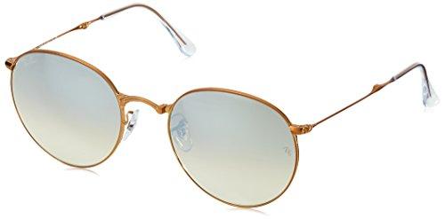 Ray-Ban Metal Man Sunglasses - Shiny Bronze Frame Copper Flash Gradient Lenses 47mm ()