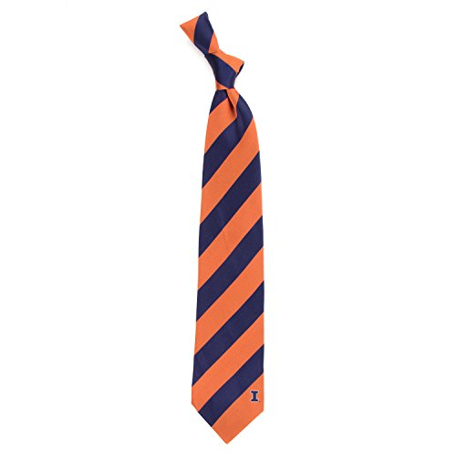 - Eagles Wings University of Illinois Regiment Woven Silk Tie