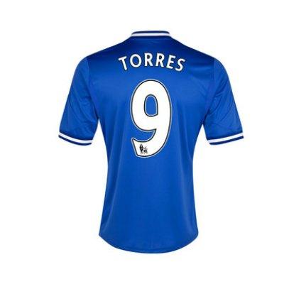 2013-14 Chelsea Home Shirt (Torres 9)