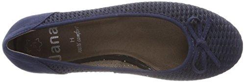 Jana para Azul Bailarinas 22102 Navy Mujer 861r8xwq