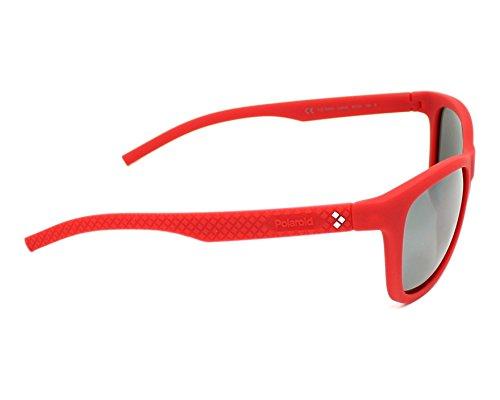 Grey Sonnenbrille Sports Silmir Pz Polaroid N Rojo 7008 PLD Red v0fqw56xq