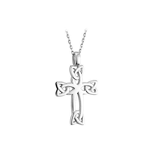 - Biddy Murphy Celtic Cross Sterling Silver 18