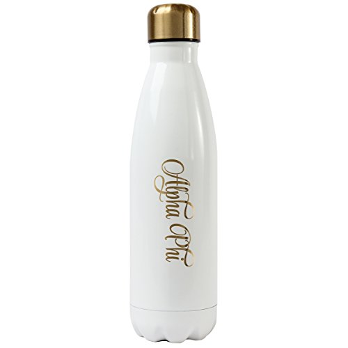 Alexandra and Company Water Bottle, Alpha Phi -