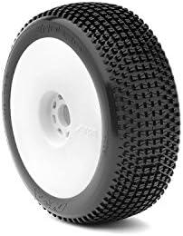 AKA Racing 14006SRW 1:8 Buggy Enduro Soft Evo Wheel Pre-Mounted, White [並行輸入品]