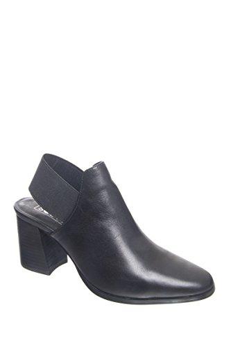 Sol Sana Warren Mid Heel Mule - Black (Mid Heel Womens Mules)