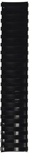 GBC CombBind Binding Spines, 2-Inch Spine Diameter, Black, 450 Sheet Capacity, 50 Spines (4200022)