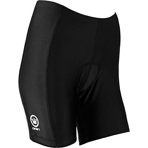 CANARI Women's Core Cycling Shorts, Black, L
