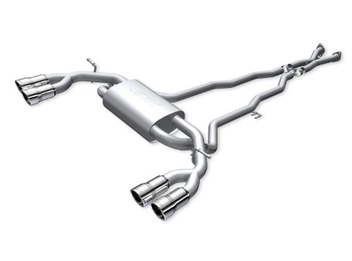 Spec-D Tuning MFCAT2-GEN092T-SD For Hyundai Genesis Coupe 2.0T S//S Quad Burnt Tip Catback Exhaust Muffler System